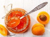 Рецепта Сладко от кайсии с лимонтозу в бурканчета (зимнина)